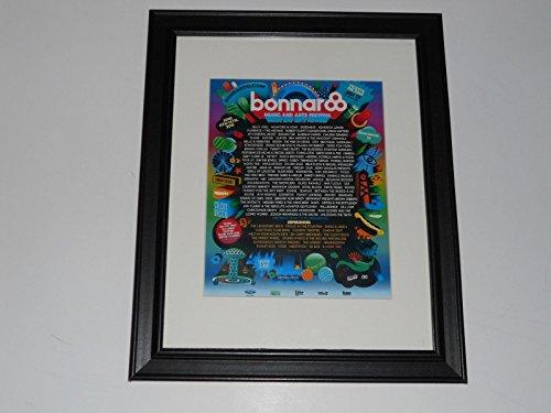 Cleveland Vinyl Framed Bonnaroo 2015 Handbill Mini-Poster, 14