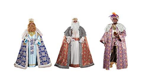 Reyes Magos de Lujo. Melchor, Gaspar y Baltasar. Incluyen Pelucas ...