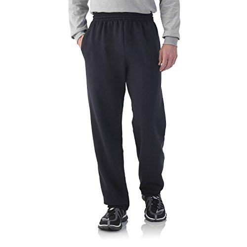 fruit-of-the-loom-mens-elastic-bottom-sweatpant-black-4xl