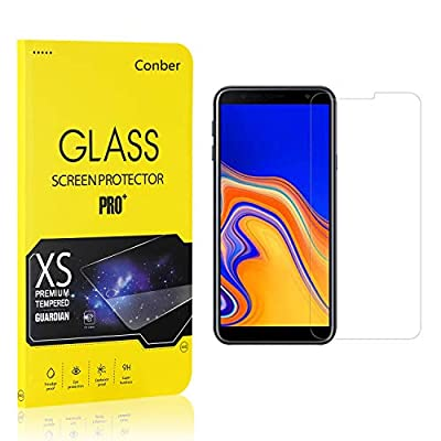 Conber (4 Pack) Screen Protector for Samsung Galaxy J4 Core, [Scratch-Resistant][Anti-Shatter][Case Friendly] Premium Tempered Glass Screen Protector for Samsung Galaxy J4 Core: Baby