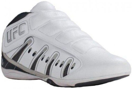 UFC-Ultimate-Lightweight-Training-Shoes-MMA-Sparring-Wrestling-Indoor-Gym-Shoes-WhiteSilver-Size-5