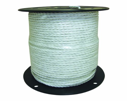 Field Guardian Economy Polyrope, 1/4-Inch, White, My Pet Supplies