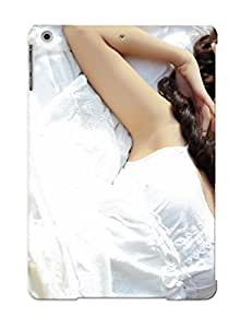 DGoPqKy4440CstHD New Premium Flip Case Cover Woman Girl Beauty Nice Face Lying Down Asian White Dress Bed Skin Case For Ipad Air As Christmas's Gift by icecream design