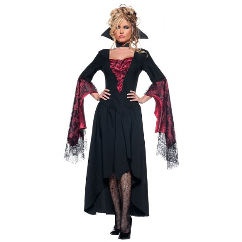 [Women's Sexy Vampire Queen Costume - The Countess] (Gothic Countess Child Costumes)