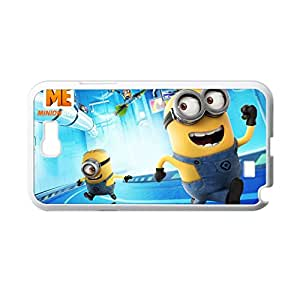 Generic Soft Personalised Phone Case For Kids Print With Despicable Me Minions For Samsung Galaxy Note2 N7100 Choose Design 2