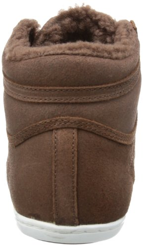 adidas Plimcana Mid Fur - Zapatilla alta de cuero hombre marrón - Braun (St Auburn F13 / St Auburn F13 / Running White Ftw)