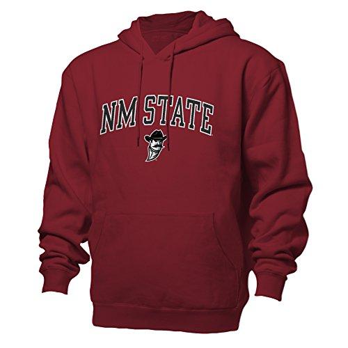 NCAA New Mexico State Aggies Benchmark Hood, Garnet, Large