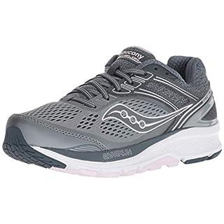 Saucony Women's S10469-1 Echelon 7 Running Shoe, Slate/Pink - 8.5 W US