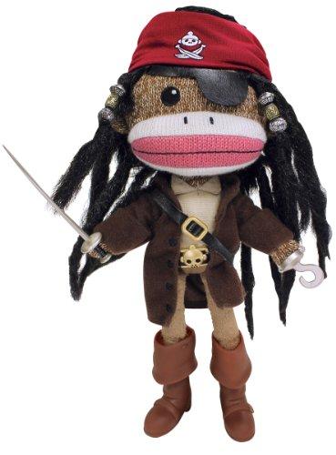 Sea Monkeys Pirate (Planet Sock Monkey Doll - Long Sock)