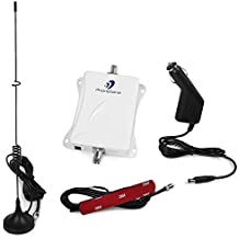 Phonetone 45dB 1900MHz Cell Phone Signal Booster Kit Can Boost Voice for AT&T Verizon T-Mobile Sprint