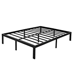 45Min Heavy Duty Platform Bed Frame                45Min Manufacturer promises and always strives to make best nights sleep more affordably so everyone can get the sleep quality they deserve and desire.          Model IM-P50 Steel Plat...