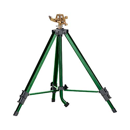 Orbit 56667N Zinc Impact Sprinkler on Tripod Base (Renewed)