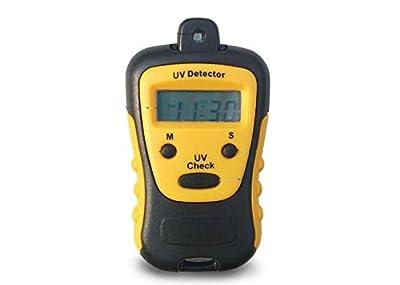 ELEOPTION High Precision UV Strength Tester UV Meter Photometer UV Detector Handheld LCD Light 1000U W/CM2 Widely Used in School Family UV Strength Tester