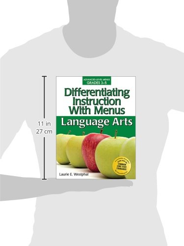 Amazon.com: Differentiating Instruction With Menus: Language Arts ...