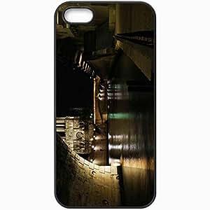 Back Cover For iPhone 5 5S Case Bridge Of Notre Dame Paris France Black