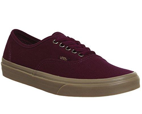 Bestelwagens Authentieke Unisex-erwachsene Sneakers Rood