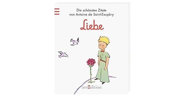 Der Kleine Prinz Liebe 9783845804002 Amazon Com Books