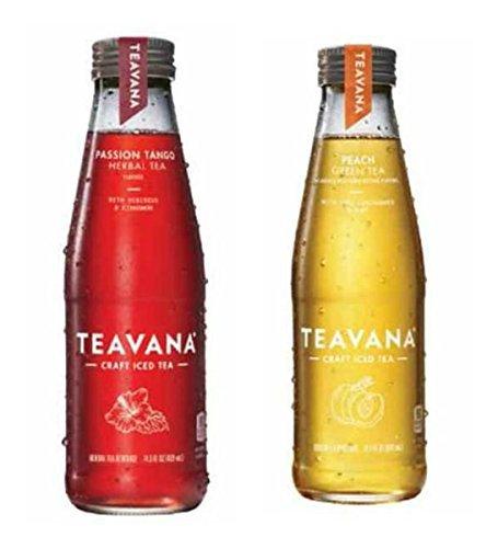 Teavana Craft Iced Tea - 4 pack (Peach/Passion Tea) -  Seattle Coffee Compnay