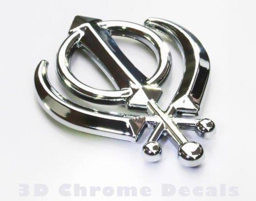 Amazon Khanda Sikh India Symbol Car Chrome Emblem 3d Decal