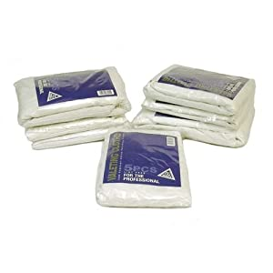 Professional 100% Supersoft Lint Free Cotton Polishing Cloths (5 pack)