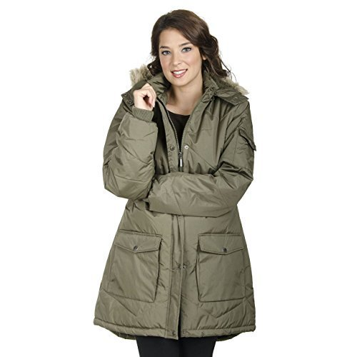 Damen Warm Isoliert Winterjacke Mit Kapuze Vicky Smith Jacke