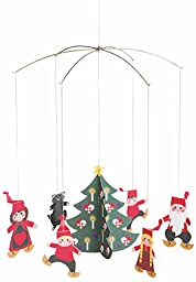 Flensted Mobiles Pixy Family Hanging Mobile - 11 Inches Cardboard
