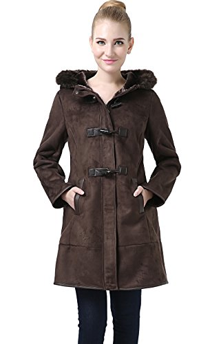 Shearling Toggle Jacket (BGSD Women's