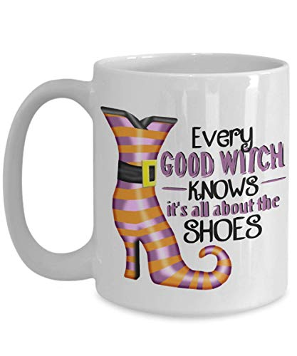 Good Witch It's All About The Shoes Coffee Mug Gift -
