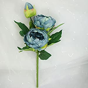 Lily Garden 6 Stems Artificial Peony Silk Flowers 36