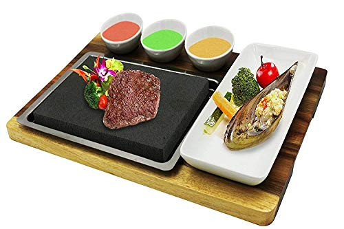 stainless steel meat platter - 3