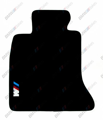 NEW CAR FLOOR MATS BLACK with ///M EMBLEM for BMW 5 series F10 2009, 2010, 2011, 2012, 2013, 2014, 2015, 2016 by VOPI MATS (Image #1)'