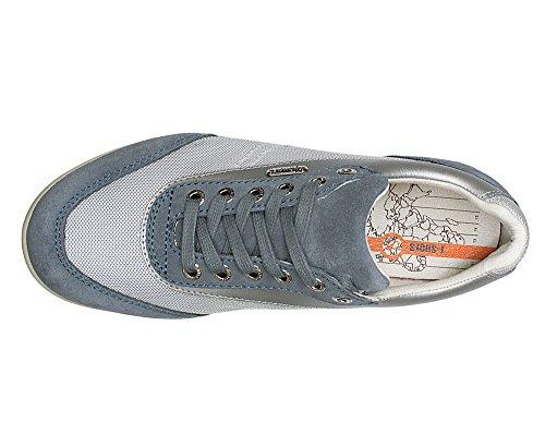 T-Shoes - Montecarlo TS014 - Sneakers en Suede et Mesh