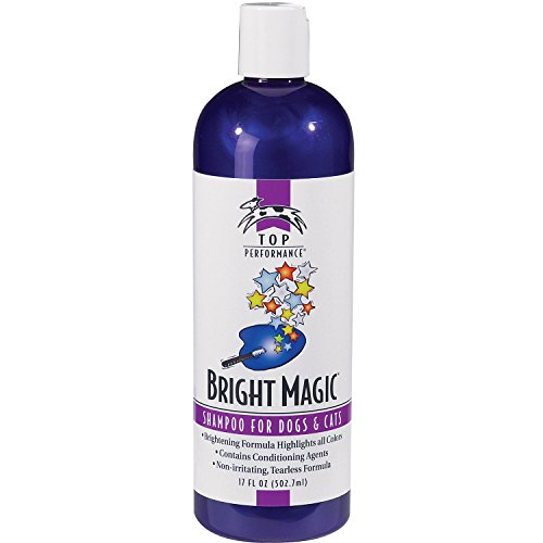 Formula Shampoo Coat Pet - Top Performance Bright Magic Dog Shampoo and Cat Shampoo – Safe Formula for Bathing Puppies and Kittens in 17 Oz. Bottle