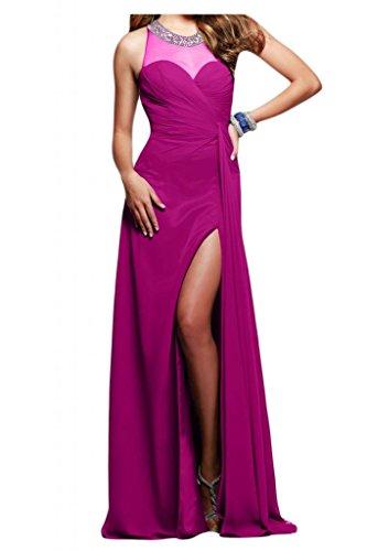 Toscana sposa incantesimo benda kraftool Chiffon stanotte vestimento per sposa giovane a lungo un'ampia Party ball vestimento viola 44