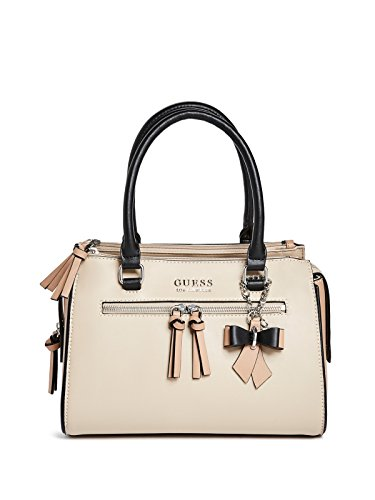 GUESS Factory Women's Scenic Two-Tone Front Pocket Charm Satchel