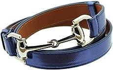 3e9e23cef6a Womens Thin Skinny Metal Tone Leather Belt ...
