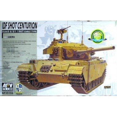 Centurion Model (AFV Club Models 1/35 IDF Centurion Sho't MK.5 1960 / Shot MK 5.1 1967)