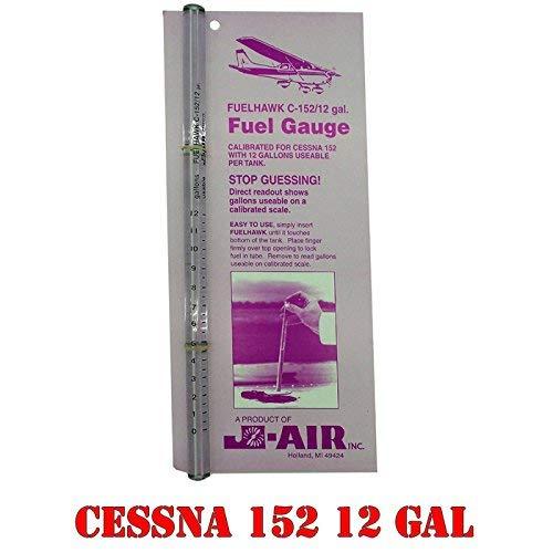 FuelHawk Fuel Gauge Cessna 152-12 Gallon