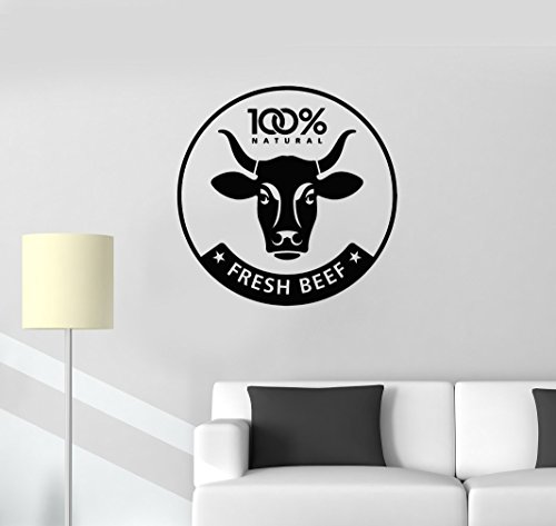 Wall Stickers Vinyl Decal Grocery Store Fresh Beef ig243 -  Wallstickers4ever