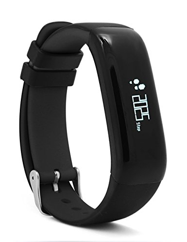 TOM TONY Blood pressure monitor & Heart rate monitor Smart band, activity tracker, fitness smart band for sports and calorie burning (Black)