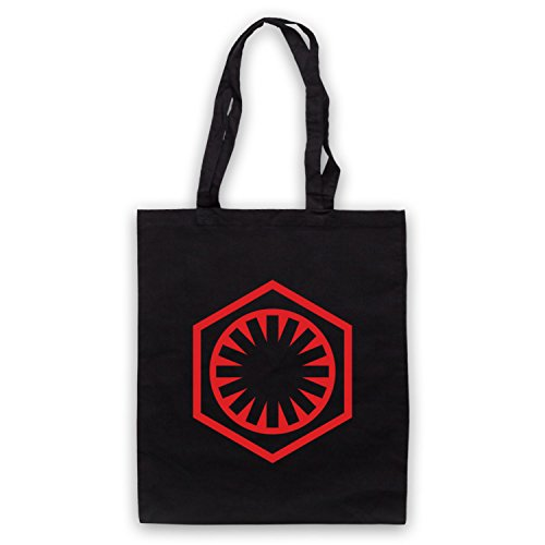 Star Wars First Order Logo Bolso Negro