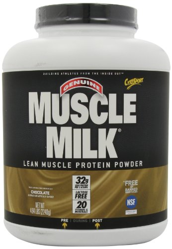 Muscle Milk CytoSport Muscle Lean Protein Powder, chocolat, 4,94 livre