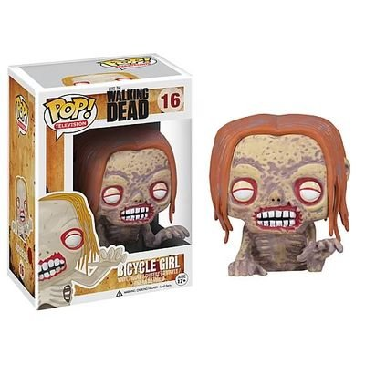 2013 Walking Dead Bicycle Girl Zombie POP Vinyl