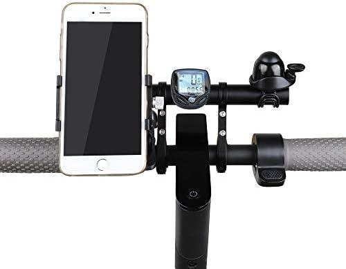 Atuka Manubrio Extender Bici prolunga per Bicicletta Lega di alluminio Staffa Risparmio di Spazio USA per XIAOMI M365, Ninebot ES1 ES2, Bicicletta da Montagna