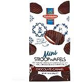 Daelmans Mini Chocolate Caramel Stroopwafels 7.04 oz Each (4 Items Per Order, not per case)