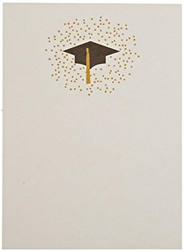 Mara-Mi Graduation Cap Imprintable Invitation, 10-Count