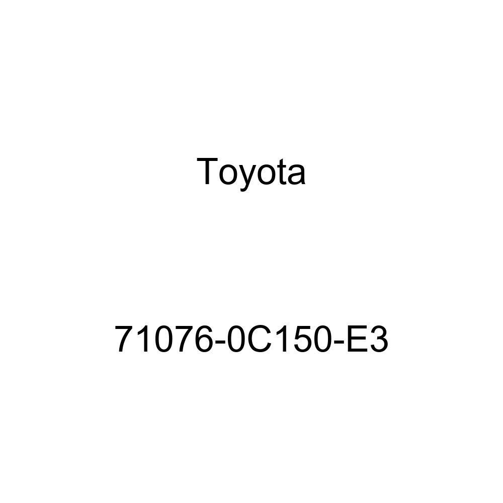 TOYOTA Genuine 71076-0C150-E3 Seat Cushion Cover