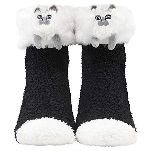 (Cozy Critter Socks (Kitty)