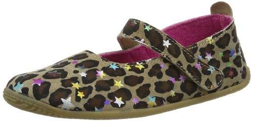 amp; Leo Kitzbühel Living Chaussures Ballerina 235 Leopard Glitzersterne Fille Braun pqtx67