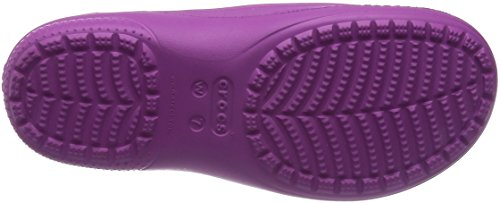 Zoccoli Orchid W e Lined Wild Oatmeal Freesail Donna Crocs Sabot Bianco Clog xqw6FIn